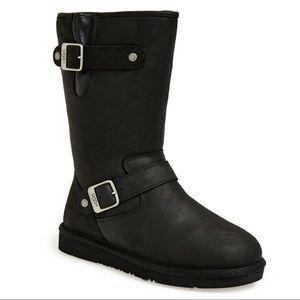 New UGG Sutter Boots, Ladies 8, Black, NIB